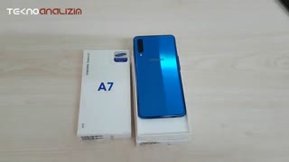 ÜÇ KAMERALI !!! -SAMSUNG- A7 2018 - ( Kutu Açılımı Ve Cihaz Tanıtımı )