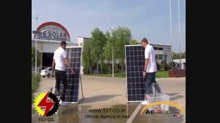 ویدیو معرفی پنل خورشیدی AE SOLAR Smart Hot-spot Free و مقایسه آن با پنل معمولی