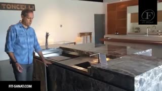 تکنولوژی های هیرت انگیز و جدید کابینت آشپزخانه لوکس