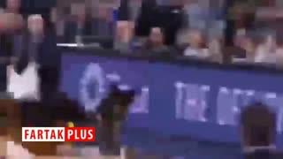 ورود خفاش به مسابقه بسکتبال!