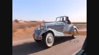 ساخت  زیباترین خودرو لوکس ایرانی