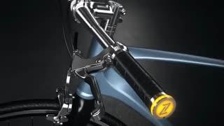 چراغ راهنمای دوچرخه با الهام از اتومبیل آلمانی «آئودی اِی8»