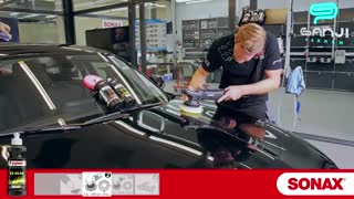 آموزش پولیش بدنه خودرو با استفاده از پولیش 6*4 -EX سوناکس-گنجی پخش