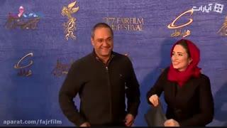 عوامل فیلم طلا روی فرش قرمز جشنواره فیلم فجر