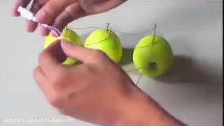.سه میوه که از خود نیروی الکتریسیته بیرون می دهند.
