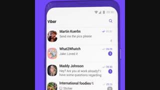 معرفی نسخه 10 اپلیکیشن پیام رسان وایبر