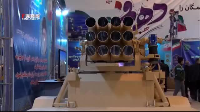 جدیدترین موشکها و پهپادها در نمایشگاه دیدنی «اقتدار 40»