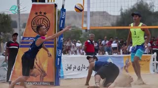 نگاهی به تورملی سه ستاره والیبال ساحلی در شهر زیبای درگهان
