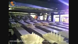 خط تولید شانه تخم مرغ