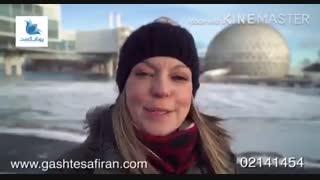 ویدیو زمستانی تورنتو