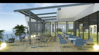 حقانی 09380039391 -سقف تاشو رستوران -پوشش متحرک رستوران سنتی