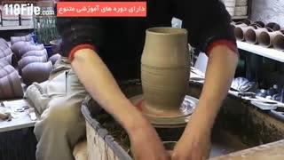 ساخت تخم مرغ سفالی برای سفره هفت سین