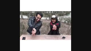 آموزش شعبده بازی با دستهای خالی!!!!!!!!!!!!!(با این شعبده بازی همه متعجب میشن )