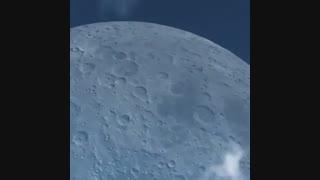 اگه ماه خیلی به زمین(یعنی ما) نزدیک بود!!!