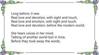 sight and touch-chris de burgh(lyrics)