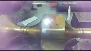 حکاکی لیزری انواع فلزات - حکاکی لیزری قطعات برنجی