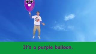 .Finger color balloon family / Dream English
