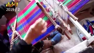 هنر بافندگی روستایی