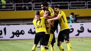 خلاصۀ بازی سپاهان اصفهان 3_0 سپیدرود رشت (هفتۀ هفدهم لیگ برتر ایران)