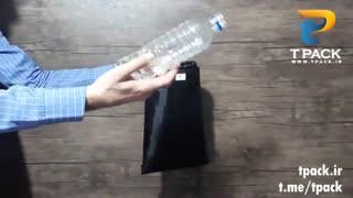 کیسه زباله تبلیغاتی شمعی پشت لاستیکی برای ماشین