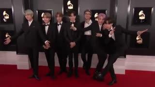 BTS فرش قرمز مراسم GRAMMY 2019 / بی تی اس
