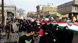 گوشههایی از راهپیمایی ۲۲ بهمن ۹۷ در تهران