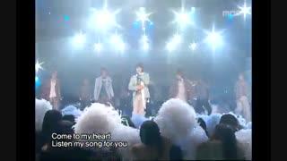اجرای snow prince ♥ از گروه عشق ♡♥SS501♥♡ همراه با متن اهنگ