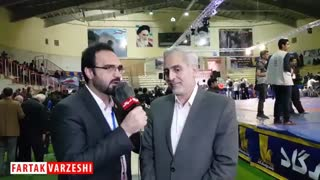 رنجبر: میزبانی شایسته جام تختی نشانگر توانایی بالای کرمانشاه در برگزاری مسابقات ورزشی می باشد