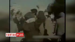 راهپیمایی ۲۲ بهمن زیر بمباران در دوران جنگ تحمیلی