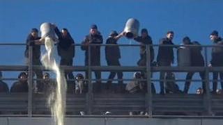 اعتراض عجیب دامداران ایتالیایی به سقوط قیمت شیر