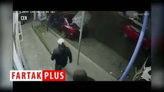 لحظه شلیک سارقان خودرو به دختر نوجوان + فیلم