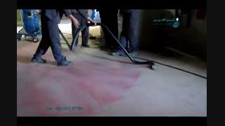 جاروبرقی صنعتی - نظافت انبارهای صنعتی با جاروبرقی قدرتمند