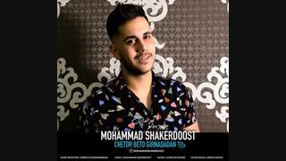 آهنگ جدید محمد شاکر دوست با نام چطور به تو گیر ندادن