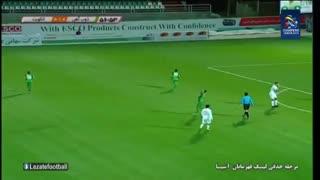 خلاصه بازی ذوب آهن 1 - الکویت 0 (پلی آف لیگ قهرمانان آسیا) + فیلم