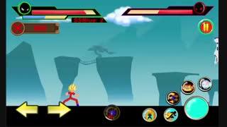 بازی خارق العاده god of stickman 3 اندروید
