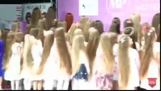 مسابقه بلند ترین موی نوجوانان 2019اوکراین
