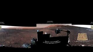نمای ۳۶۰ درجهای از مریخ