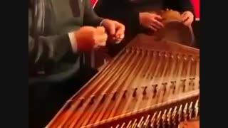 آهنگ دنیا دنیا (حمیرا) با سنتور علی نوری و تمبک رضا محمودی