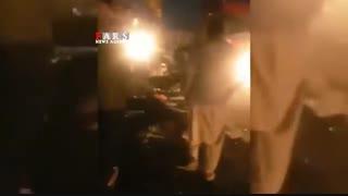 فیلم جدید از حمله انتحاری به اتوبوس حامل نیروهای سپاه