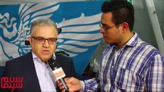 مصاحبه با محمد خوشنام تهیه کننده «معکوس»