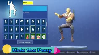 ALL 135 Fortnite Dances/Emotes