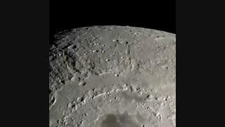 نمایی نزدیک از ماه ۴.۵ میلیارد ساله ما.