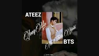 کاور اهنگ the truth untold از bts توسط jongho عضو ATEEZ