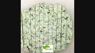 تکه های اسفناج با پنیر موزارلا - سبزی لاین