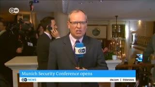 جدیدترین فیلم از کنفرانس امنیتی مونیخ
