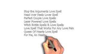 Book Of Spells.100 Black Magic Love Spells That Work ...