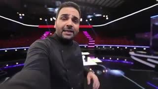 پشت صحنه ضبط قسمت اول برنامه عصر جدید با اجرای بی نظییییییر احسان علیخانی(جییییییییییغ من مردم)