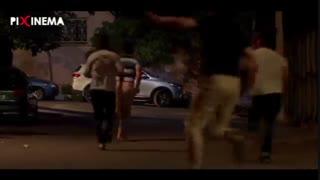 فیلم لونه زنبور سکانس ابتدایی، دزدی از آپارتمان و فرار صابر و مرتضی