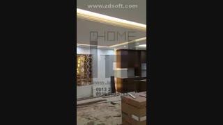 طراحی و اجرای کابینت کلاسیک در اصفهان