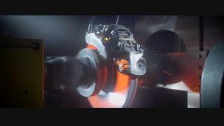 ساخت کالیپر ترمز بوگاتی شیرون با تکنولوژی پرینت سه بعدی - آزمایش عملکرد تحت شدیدترین فشار
